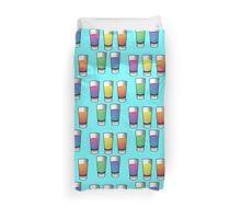 5 Coloured alcohol spirit shooters drinks  Duvet Cover