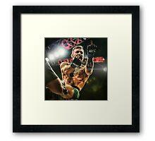 Notorious Conor McGregor Framed Print