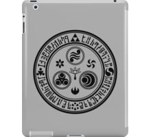 Hero's Mark (Black) iPad Case/Skin
