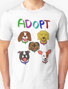 ADOPT DOGS T-Shirt