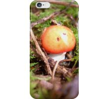 Red cap.... iPhone Case/Skin