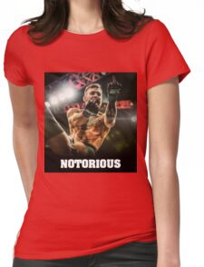 Notorious McGregor Womens Fitted T-Shirt