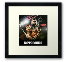 Notorious McGregor Framed Print
