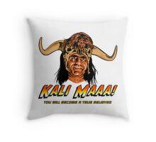 Indiana Jones and Temple of Doom - Mola Ram - Kali Ma Throw Pillow