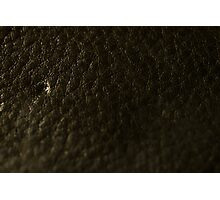 Leather Wallet Texture Photographic Print