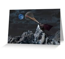 Lunar Warming Greeting Card