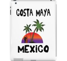Costa Maya Mexico. iPad Case/Skin