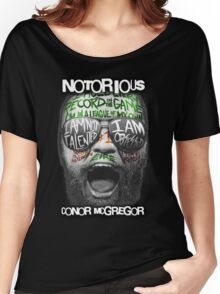 Conor McGregor Face Women's Relaxed Fit T-Shirt