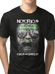 Conor McGregor Face Tri-blend T-Shirt