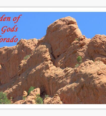 Garden of the Gods #4 Sticker
