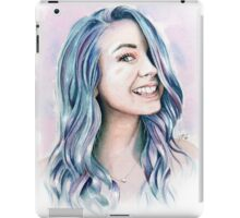 Watercolour Zoella iPad Case/Skin