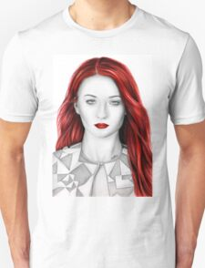 Pencil Sophie Turner Unisex T-Shirt