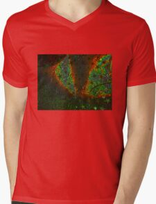 Xmas Stars Mens V-Neck T-Shirt