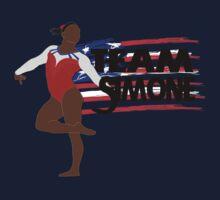 Team Simone Biles - USA (Olympic)  Kids Tee