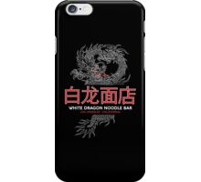 White Dragon Noodle Bar - ½ White Cut Mandarin Variant iPhone Case/Skin