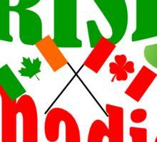 Irish Canadian Sticker