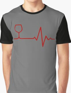 Red Wine Life Graphic T-Shirt