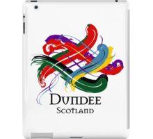 Dundee, Scotland - Prefer your gift on Black/White tell us at info@tangledtartan.com  iPad Case/Skin