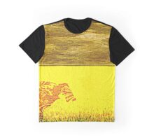 Yellow moo cow Graphic T-Shirt