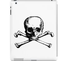 skull and bones iPad Case/Skin
