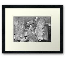 Holt Stone Angel Framed Print