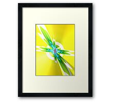 Colored IV Framed Print