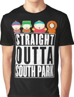 Straight outta South Park Graphic T-Shirt