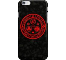 Hero's Mark (Red) iPhone Case/Skin