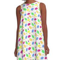 Summer Frozen Treats A-Line Dress