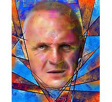 Kinsignium - portrait of Anthony Hopkins Photographic Print