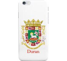 Duran Shield of Puerto Rico iPhone Case/Skin