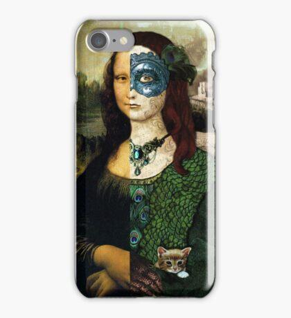 Altered Mona Lisa iPhone Case/Skin