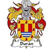 Duran Coat of Arms/Family Crest Photographic Print