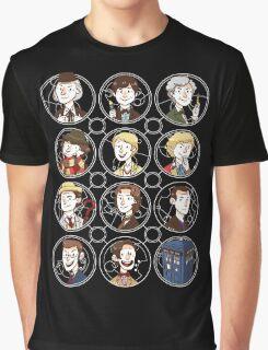 Doctors 1-11 Graphic T-Shirt