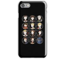 Doctors 1-11 iPhone Case/Skin