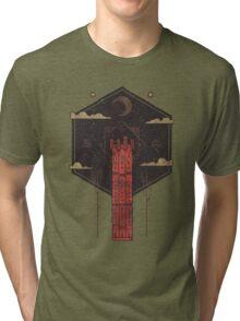 The Crimson Tower Tri-blend T-Shirt