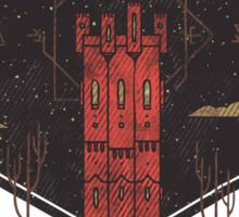 The Crimson Tower Sticker