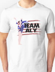 Team Aly Raisman - USA (Olympic)  Unisex T-Shirt