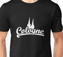 Cologne Classic mit Kölner Dom (Schwarz/Weiß) Unisex T-Shirt