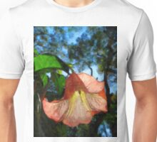 peach flower Unisex T-Shirt
