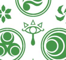 Hero's Mark (Green) Sticker