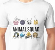 Animal Squad! Now with signatures! Unisex T-Shirt