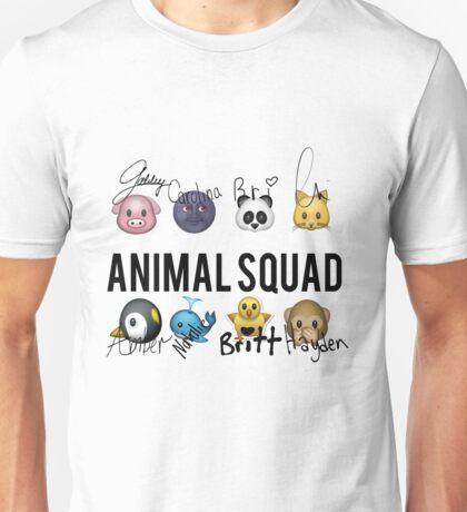 Animal Squad! Now with signatures! Unisex T-Shirt