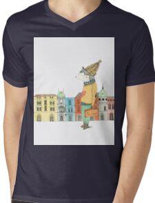 Bon Voyage Mens V-Neck T-Shirt