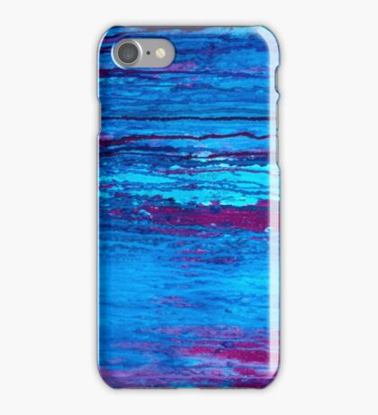 Abstract Marine iPhone Case/Skin