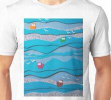 The fishing fleet... Unisex T-Shirt