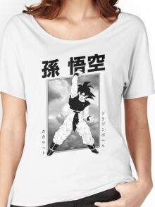 Son Goku Graphic Design Women's Relaxed Fit T-Shirt