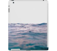 Grey days and purple waves iPad Case/Skin