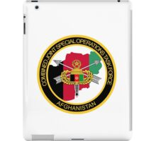 Combined Joint Special Operations Task Force - 452 - Afghanistan iPad Case/Skin