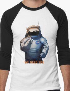 Nasa - A Journey To Mars Men's Baseball ¾ T-Shirt